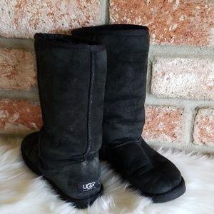UGG tall black classic boots